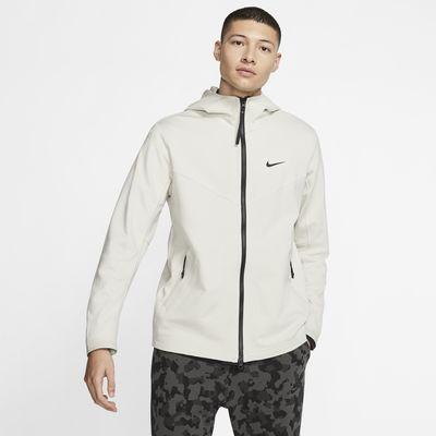 Męska kurtka z kapturem i zamkiem na całej długości Nike Sportswear Tech Pack