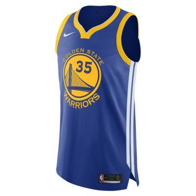 เสื้อแข่ง Nike NBA Connected ผู้ชาย Kevin Durant Icon Edition Authentic (Golden State Warriors)