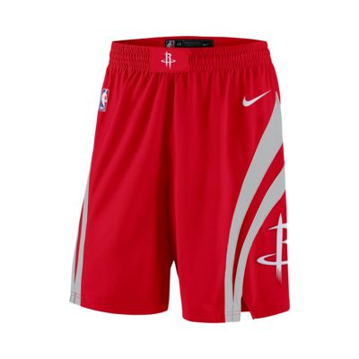 Shorts de NBA para hombre Houston Rockets Nike Icon Edition Swingman