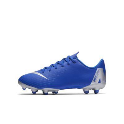 Nike Jr. Mercurial Vapor XII Academy Fußballschuh für verschiedene Böden für jüngere/ältere Kinder