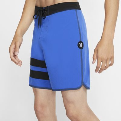 Hurley Phantom Block Party Solid Boardshort de 46 cm - Hombre