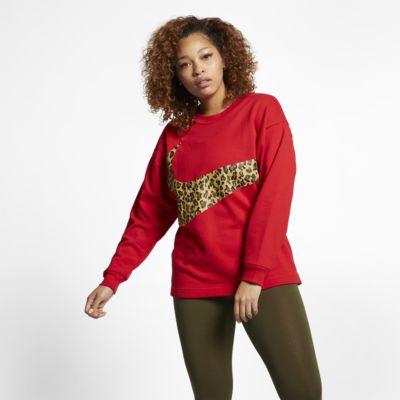 Nike Sportswear Dessuadora amb estampat d'animal (talles grans) - Dona