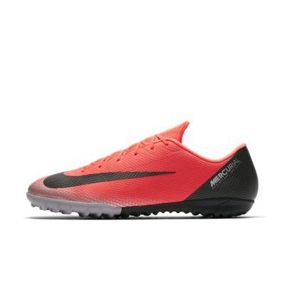 รองเท้าฟุตบอลสำหรับหญ้าเทียมสั้น Nike MercurialX Vapor XII Academy CR7 TF