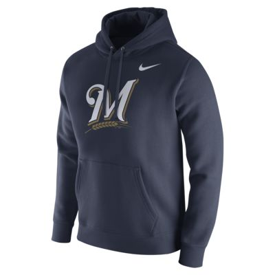 Nike Franchise (MLB Brewers) Men's Pullover Hoodie