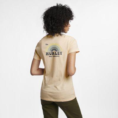 Hurley Surfbow Perfec Camiseta con cuello en V - Mujer