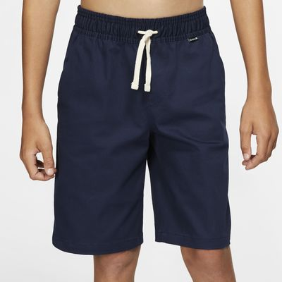 """Hurley One And Only Stretch Boys' 17.5"""" (44cm approx.) Chino Walkshorts"""