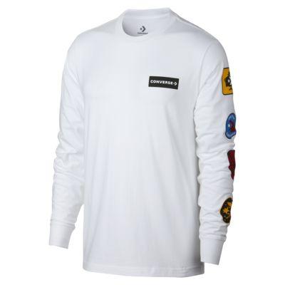 Converse Garage Patch Long Sleeve Men's T-Shirt