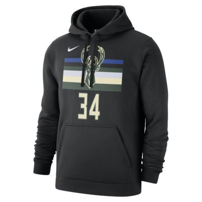 Giannis Antetokounmpo Milwaukee Bucks Nike Men's NBA Hoodie