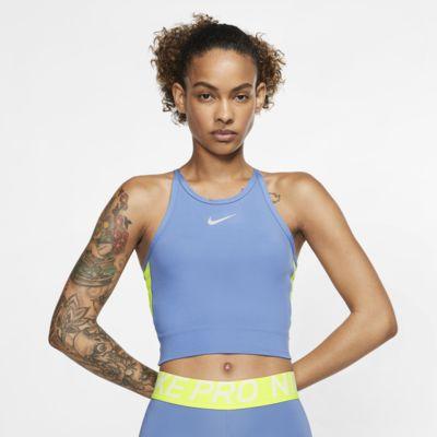 Camiseta de tirantes de running corta para mujer Nike