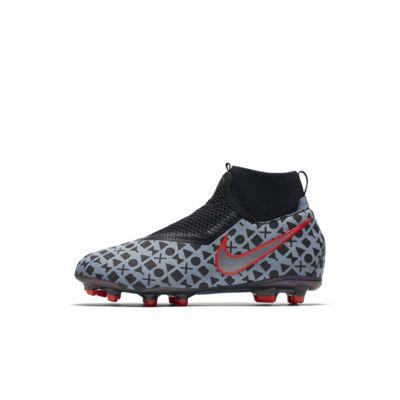 Calzado de fútbol para múltiples superficies para niños talla pequeña/grande Nike Jr. EA Sports X Phantom Vision Academy Dynamic Fit MG