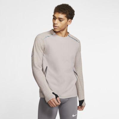 Męska koszulka z długim rękawem do biegania Nike Tech Pack