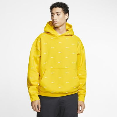 Nike Swoosh emblémás kapucnis férfipulóver
