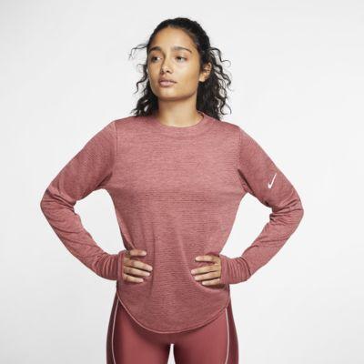Γυναικεία μακρυμάνικη μπλούζα για τρέξιμο Nike Sphere Element