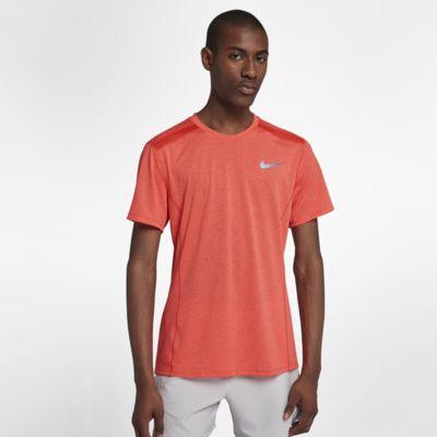 Nike Dri-FIT Miler Cool Kurzarm-Laufoberteil für Herren