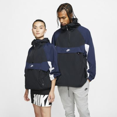 Vævet Nike Sportswear-jakke med hætte