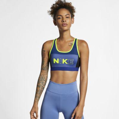สปอร์ตบราผู้หญิงซัพพอร์ตระดับกลาง Nike Classic