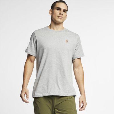 เสื้อยืดเทนนิสผู้ชาย NikeCourt