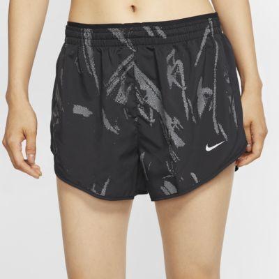 Dámské běžecké kraťasy Nike Tempo Lux s grafickým motivem