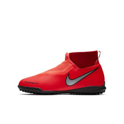 Nike Jr. Phantom Vision Academy Dynamic Fit 小/大童人工短草草皮足球鞋