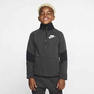 Bluza z długim rękawem dla dużych dzieci Nike Sportswear Winterized Tech Fleece