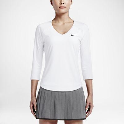 Top de tenis para mujer NikeCourt Pure