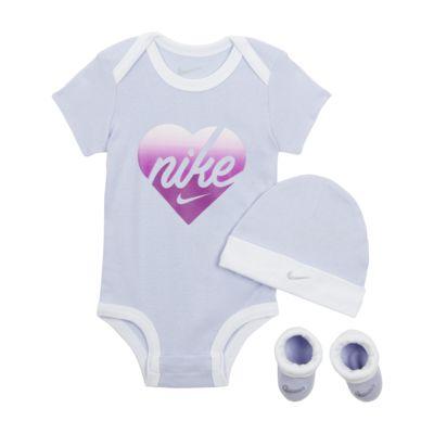 Completo body, cappello e scarpine Nike - Neonati