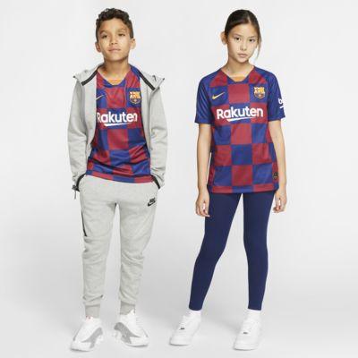 เสื้อแข่งฟุตบอลเด็กโต FC Barcelona 2019/20 Stadium Home