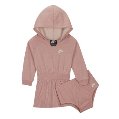 Nike Sportswear Baby (12–24M) Long-Sleeve Hooded Dress