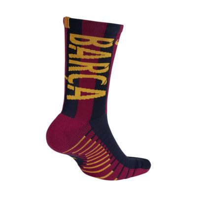 2018/19 FC Barcelona Crew Football Socks
