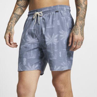 Shorts de 43 cm para hombre Hurley Asylum Volley