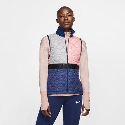 Veste de running sans manches Nike AeroLayer pour Femme