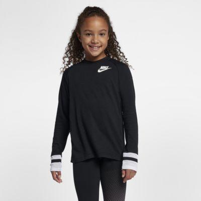 Prenda para la parte superior de manga larga para niña talla grande Nike Sportswear