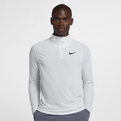 Maglia da tennis con zip a metà lunghezza NikeCourt Dri-FIT Challenger - Uomo