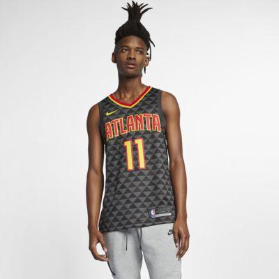 Camiseta Nike NBA Swingman para hombre Trae Young Hawks Icon Edition