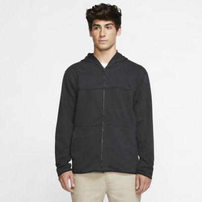 Sweat à capuche en tissu Fleece à zip Hurley Dri-FIT Naturals pour Homme