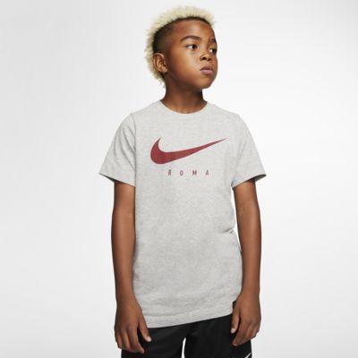 Fotbolls-t-shirt Nike Dri-FIT A.S. Roma för ungdom