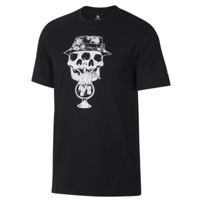 Converse Palm Print Skull Men's T-Shirt