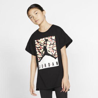 Jordan Jumpman T-shirt met korte mouwen voor meisjes