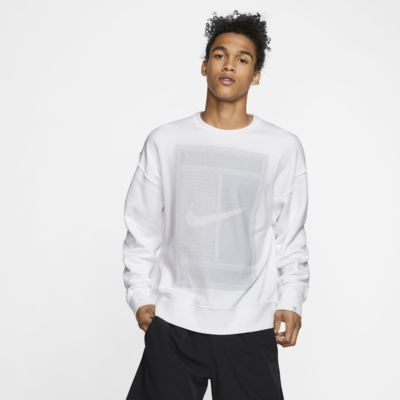 NikeCourt Men's Fleece Reversible Tennis Crew