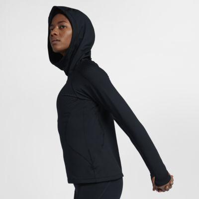 Nike Pro HyperWarm Trainingshoodie voor dames