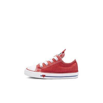 Chuck Taylor All Star Denim Love Low Top Infant/Toddler Shoe