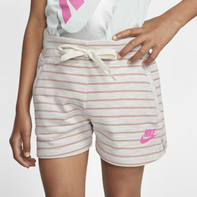 Nike Sportswear Little Kids' Striped Shorts