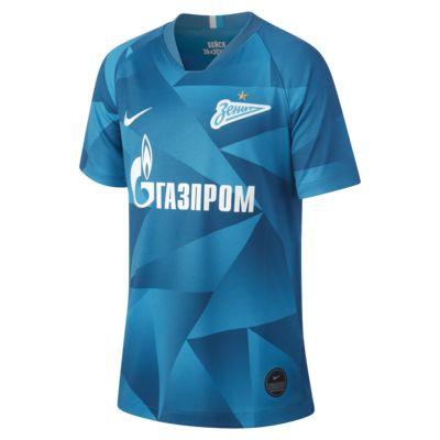 Fotbollströja Zenit Saint Petersburg 2019/20 Stadium Home för ungdom