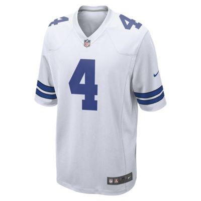 NFL Dallas Cowboys (Dak Prescott) Men's Football Home Game Jersey