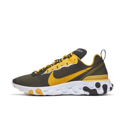 Nike React Element 55 (Pittsburgh Steelers) Men's Shoe