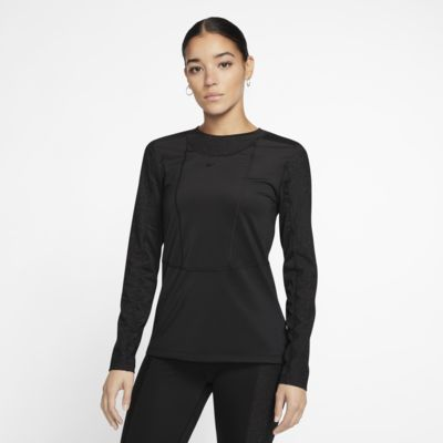 Женская футболка с длинным рукавом Nike Pro Warm