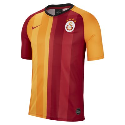 Galatasaray 2019/20 Home Men's Short-Sleeve Football Top