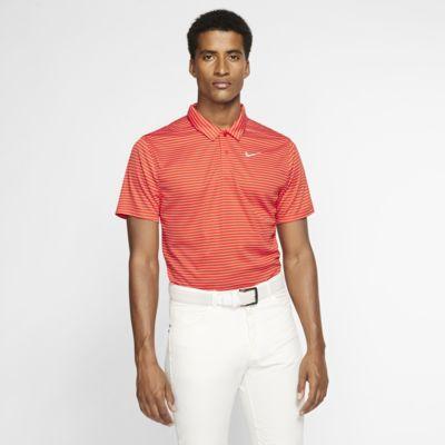 Nike Dri-FIT Polo de golf a rayas - Hombre