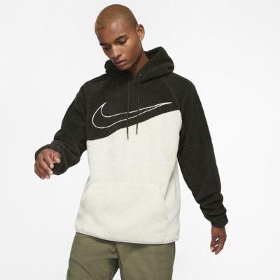Nike Sportswear Swoosh Sherpa Pullover Hoodie