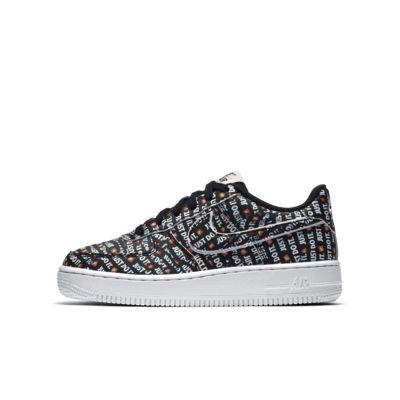 Nike Air Force 1 Just Do It Premium 大童鞋款